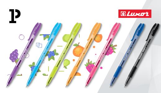 Пиши уверенно вместе с ручкой Luxor Spark II