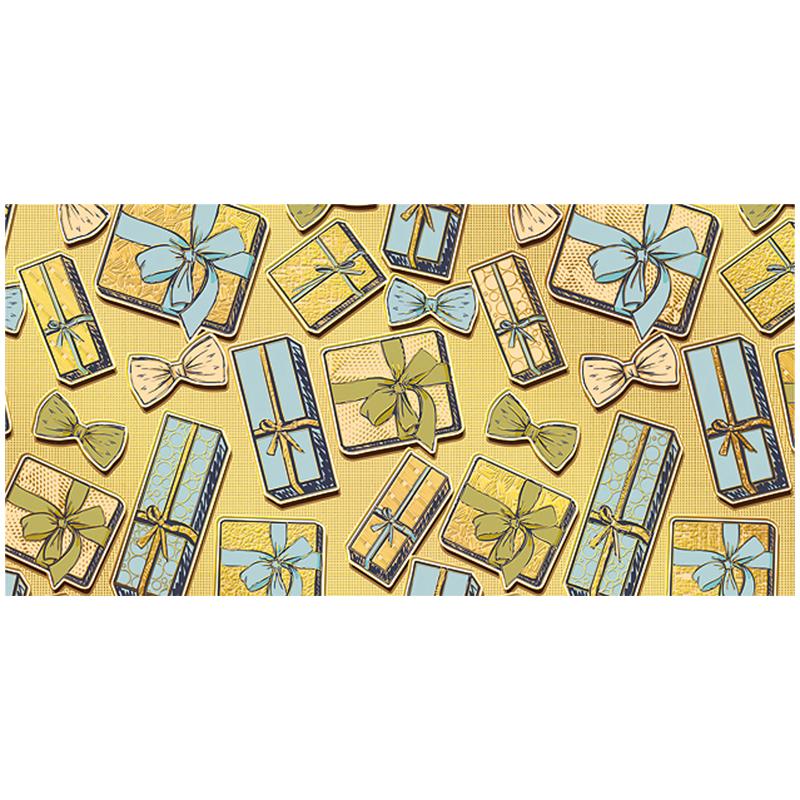 """Анонс-изображение товара конверт для денег мир поздравлений """"орнамент"""", 84*168мм, фольга, 078.956"""